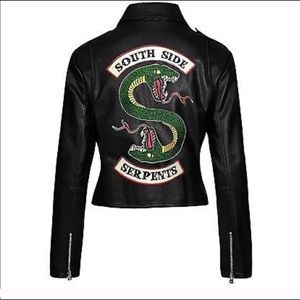 Riverdale South Side Serpents Large leather jacket